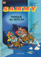 Couverture de l'album SAMMY Tome #18 Panique au Vatican