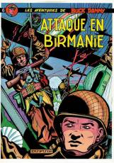 Couverture de l'album BUCK DANNY Tome #6 Attaque en Birmanie