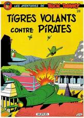 Couverture de l'album BUCK DANNY Tome #28 Tigres Volants contre pirates