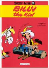Couverture de l'album LUCKY LUKE Tome #20 Billy The Kid