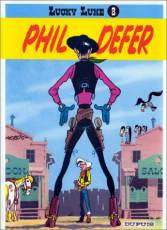 Couverture de l'album LUCKY LUKE Tome #8 Phil Defer