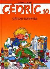 Couverture de l'album CEDRIC Tome #10 Gâteau-surprise
