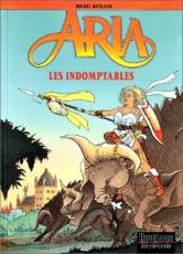 Couverture de l'album ARIA Tome #11 Les indomptables
