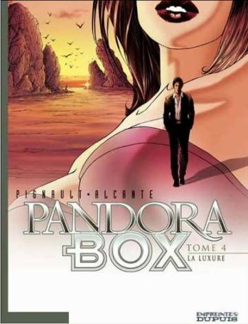 Couverture de l'album PANDORA BOX Tome #4 La Luxure