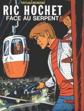 Couverture de l'album RIC HOCHET Tome #8 Face au serpent