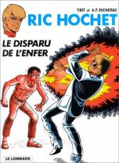 Couverture de l'album RIC HOCHET Tome #39 Le Disparu de l'enfer