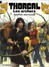 Couverture de l'album THORGAL Tome #9 Les archers