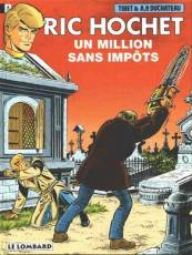 Couverture de l'album RIC HOCHET Tome #56 Un million sans impôts