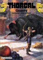 Couverture de l'album THORGAL Tome #22 Géants