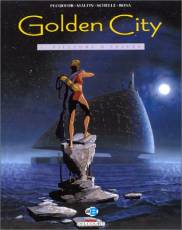 Couverture de l'album GOLDEN CITY Tome #1 Pilleurs d'épaves