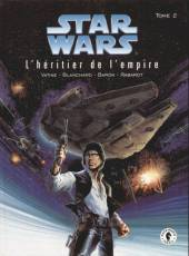 Couverture de l'album STAR WARS Tome #2 L'héritier de l'Empire -2-