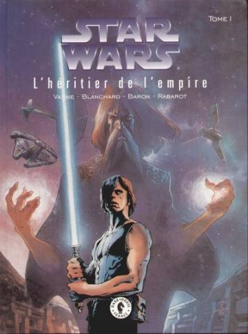 Couverture de l'album STAR WARS Tome #1 L'héritier de l'Empire -1-
