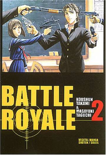 Couverture de l'album BATTLE ROYALE Tome #2 Kazuo Kiriyama