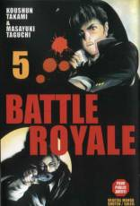Couverture de l'album BATTLE ROYALE Tome #5 Soulèvement