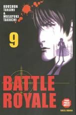 Couverture de l'album BATTLE ROYALE Tome #9 Tiraillement