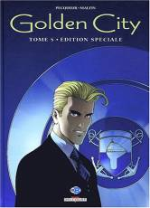 Couverture de l'album GOLDEN CITY Tome #5 Le dossier Harrison - Edition spéciale