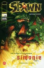 Couverture de l'album SPAWN Tome #71 Simonie