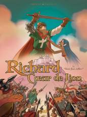 Couverture de l'album RICHARD COEUR DE LION Tome #1 Saint-Jean-d'Acre