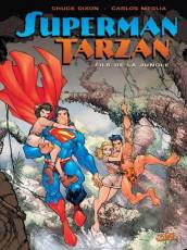 Couverture de l'album SUPERMAN - TARZAN Tome #1 Fils de la jungle