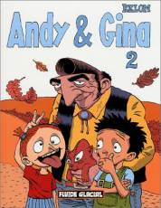 Couverture de l'album ANDY & GINA Tome #2 Andy et Gina - 2
