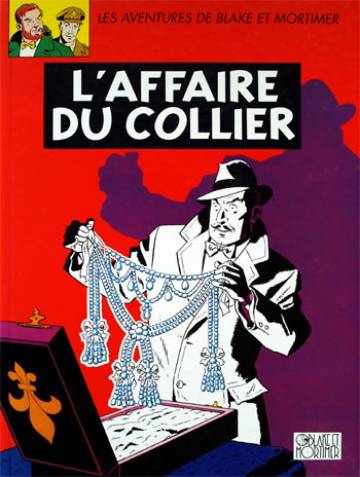 Couverture de l'album BLAKE ET MORTIMER Tome #10 L'affaire du collier