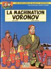 Couverture de l'album BLAKE ET MORTIMER Tome #14 La machination Voronov