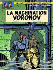 Couverture de l'album BLAKE ET MORTIMER Tome #14 La machination Voronov (Réédition)