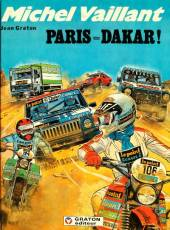 Couverture de l'album MICHEL VAILLANT Tome #41 Paris-Dakar