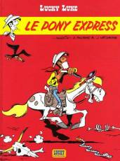 Couverture de l'album LUCKY LUKE Tome #28 Le Pony Express