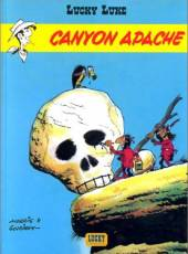 Couverture de l'album LUCKY LUKE Tome #6 Canyon Apache