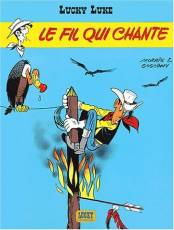 Couverture de l'album LUCKY LUKE Tome #14 Le Fil qui Chante