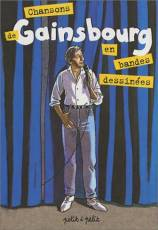Couverture de l'album CHANSONS EN BANDES DESSINEES Tome #2 Gainsbourg