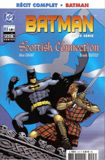 Couverture de l'album BATMAN - HORS SERIE Tome #3 Scottish Connection