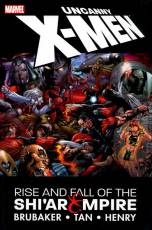 Couverture de l'album UNCANNY X-MEN Rise and fall of the Shi'Ar Empire