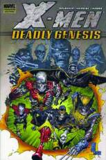 Couverture de l'album X-MEN Deadly Genesis