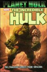 Couverture de l'album INCREDIBLE HULK: PLANET HULK (THE) Planet Hulk