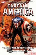 Couverture de l'album CAPTAIN AMERICA Tome #8 The death of Captain America Vol.3: The man who bought America