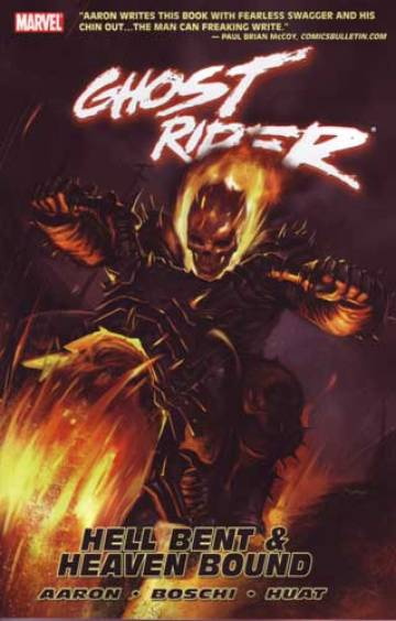 Couverture de l'album GHOST RIDER Tome #5 Hell Bent & Heaven Bound