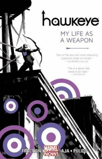 Couverture de l'album VO HAWKEYE Tome #1 My life as a weapon