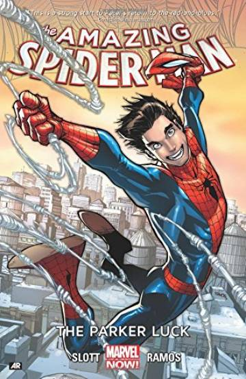 Couverture de l'album THE AMAZING SPIDER-MAN Tome #1 The Parker Luck