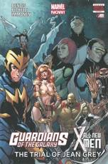 Couverture de l'album GUARDIANS OF THE GALAXY/ALL NEW X-MEN The trial of Jean Grey