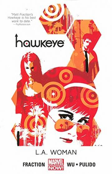Couverture de l'album VO HAWKEYE Tome #3 L.A. Woman