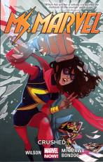 Couverture de l'album MS. MARVEL Tome #3 Crushed