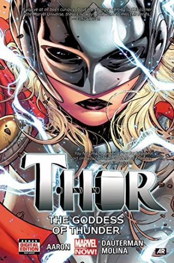 Couverture de l'album THOR Tome #1 The goddess of thunder