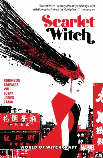 Couverture de l'album SCARLET WITCH Tome #2 World of Witchcraft