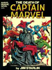 Couverture de l'album THE DEATH OF CAPTAIN MARVEL The death of Captain Marvel