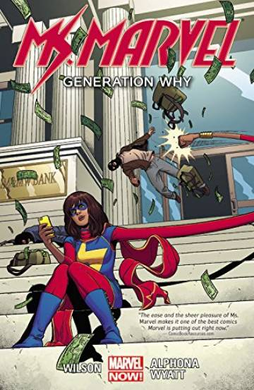 Couverture de l'album MS. MARVEL Tome #2 Generation Why