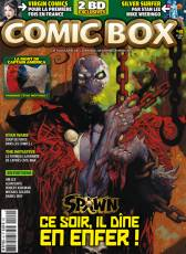 Couverture de l'album COMIC BOX Tome #49 Octobre/Novembre 2007
