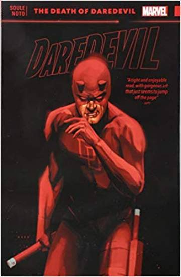Couverture de l'album DAREDEVIL : BACK IN BLACK Tome #8 The Death of Daredevil