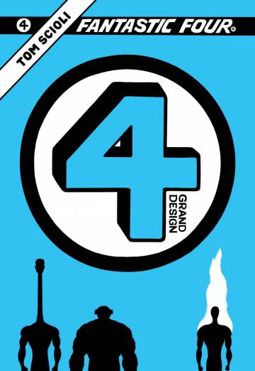 Couverture de l'album FANTASTIC FOUR GRAND DESIGN Fantastic Four Grand Design